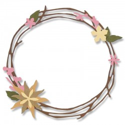 Pretty Wreath - Troquel Sizzix