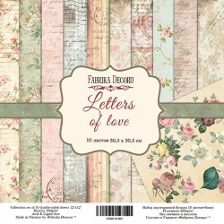 LETTERS OF LOVE - FABRIKA...