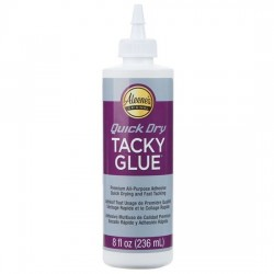Quick Dry Tacky Glue 8oz...