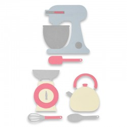 Kitchen Set - Troquel Sizzix